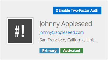 Johnny Appleseed User